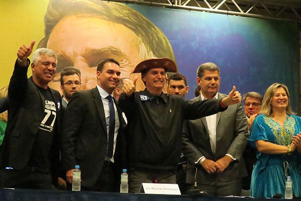 Jair Bolsonaro participa de encontro com deputados eleitos pelo PSL e partidos aliados