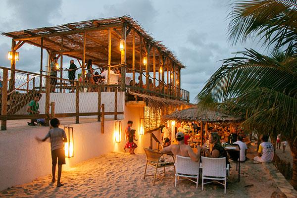Espaço Makani, na beira da praia de São Miguel do Gostoso,inaugura durante o  Araçá Festival Gostoso