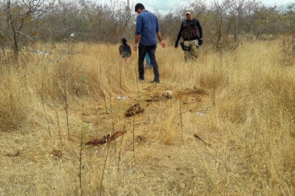 Corpo de Maria Carla da Silva foi encontrado na zona rural de Apodi após 30 dias de desaparecimento