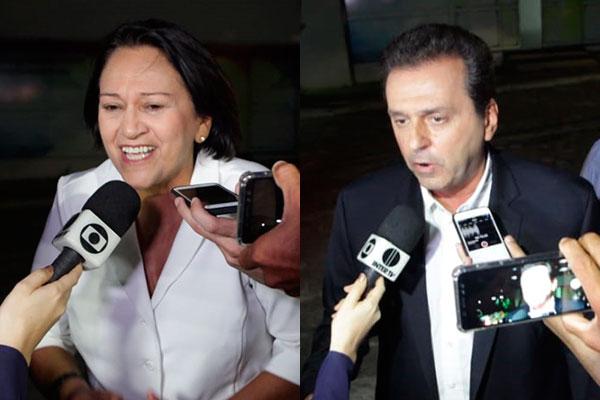 Resultado de imagem para Ibope – RN, votos válidos: Fátima, 55%; Carlos Eduardo, 45%
