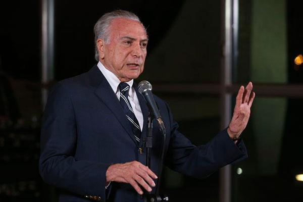 Presidente Michel Temer disse que a transição começa hoje (29), no Centro Cultural Banco do Brasil (CCBB)