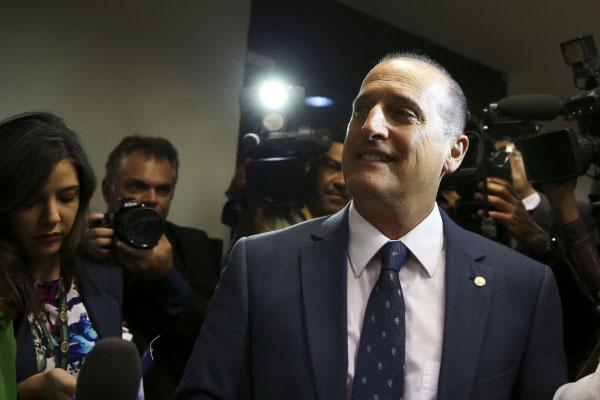 Onyx Lorenzoni (DEM-RS) exercerá a função de ministro da Casa Civil no Governo de Jair Bolsonaro