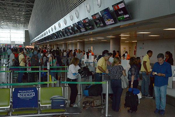 A Inframerica estima um pico de embarques no Aeroporto de Natal na quinta (01) a partir das 13h