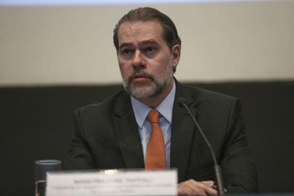 O ministro Dias Toffoli e presidente do STF disse defender as reformas no setor previdenciário e tributário