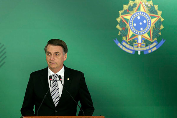 Diplomação de Jair Bolsonaro será no dia 10 de dezembro