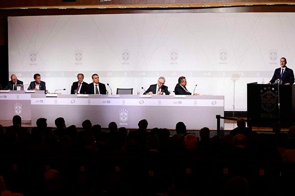 Novo presidente Rogério Caboclo teve a eleição colocada em suspeição e pode perder o cargo
