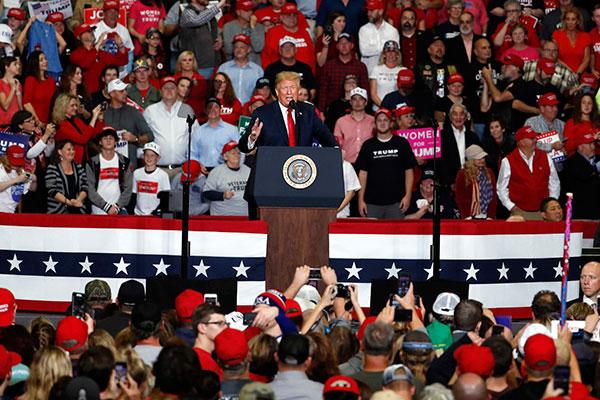 Cenário configura derrota para o presidente Trump, que terá resto do mandato com dificuldades