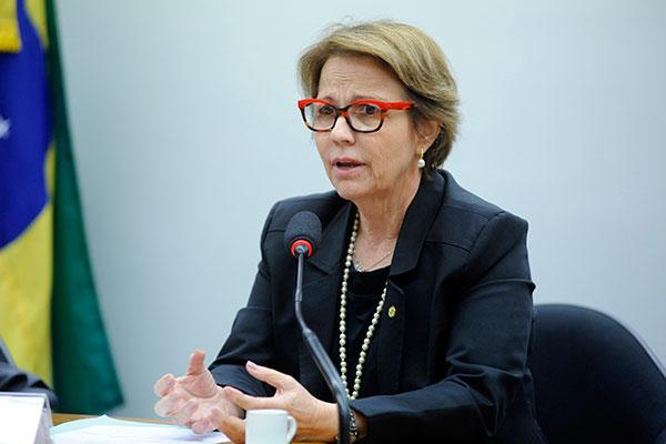 Teresa Cristina é a 1ª mulher no ministério de Bolsonaro