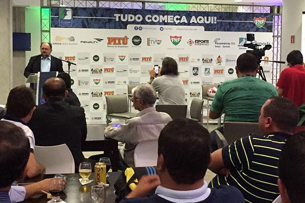 O presidente da FNF, José Vanildo será o responsável pela divulgação da tabela da competição