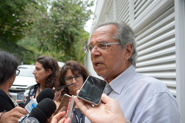 Paulo Guedes, futuro ministro da Economia em 2019 vai discutir com a equipe de transição outras pautas-bomba
