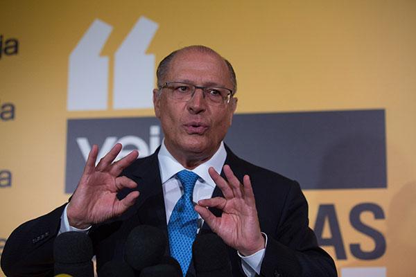 Geraldo Alckmin desistiu de ficar na Presidência do PSDB