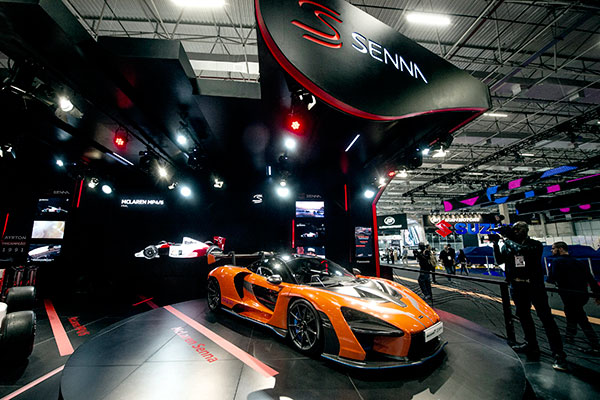 The Brazilian Motor Show, held in Sao Paulo, is a true car symphony, which excited everyone