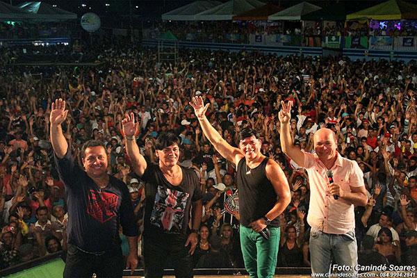 Das ruas do bairro Santos Reis, a banda deslanchou e ganhou o mundo. Hoje, chega aos 30 anos de carreira, com pique e fazendo sucesso