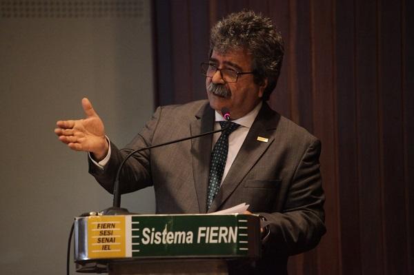 Presidente da Fiern, Amaro Sales, defende incentivo ao empreendedorismo