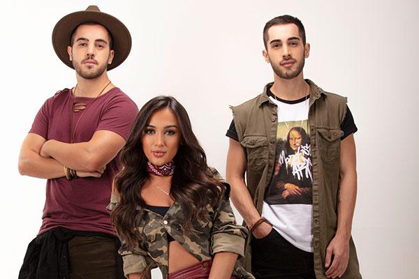 Diogo, Gabi e Rodrigo são os Melim, nascidos em Niterói-RJ