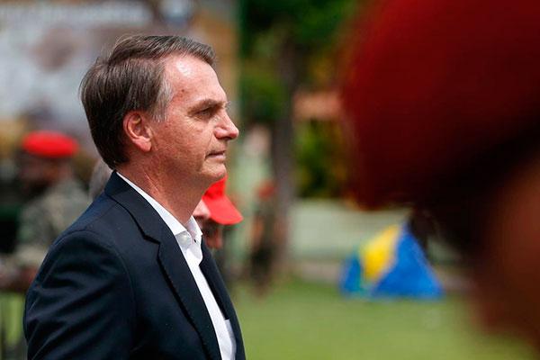 Bolsonaro fez declaração neste sábado em evento militar