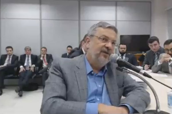 Palocci prestou depoimentos nos processos que envolvem Lula