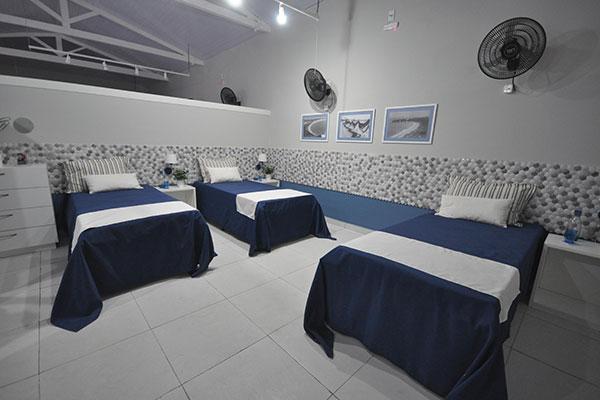 Ala de dormitórios proporciona mais conforto para moradores
