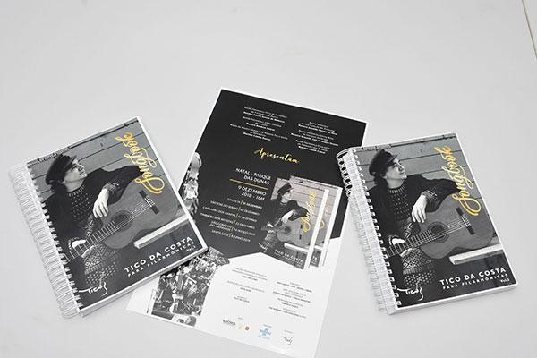 Em dois volumes, songbook Tico da Costa reúne 15 composições com arranjos para vários instrumentos