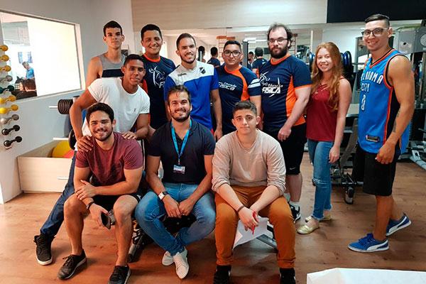 Alunos da UnP, participantes do Napex, contribuíram com a pesquisa na prática de musculação
