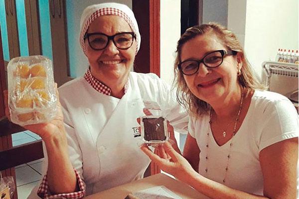 Ozenir da Totoia e a doceira Andréia Motta compartilham o apreço pelas tradições gastronômicas