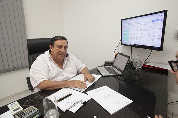 Abelírio Rocha, empresário e ex-secretário de planejamento