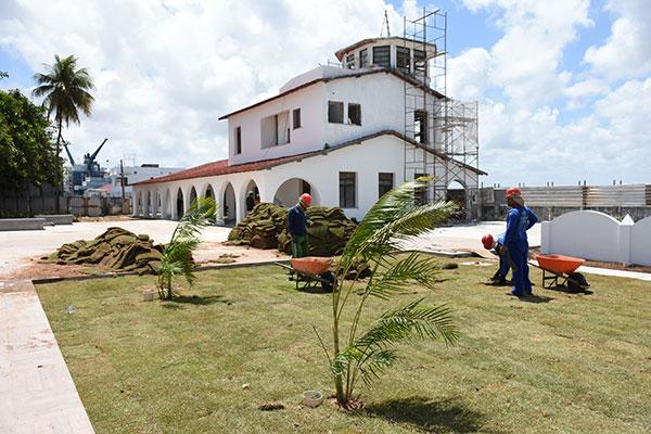 De frente para o Potengi, Complexo Cultural da Rampa abrange uma área de 13 mil metros. A edificação original vai abrigar o museu
