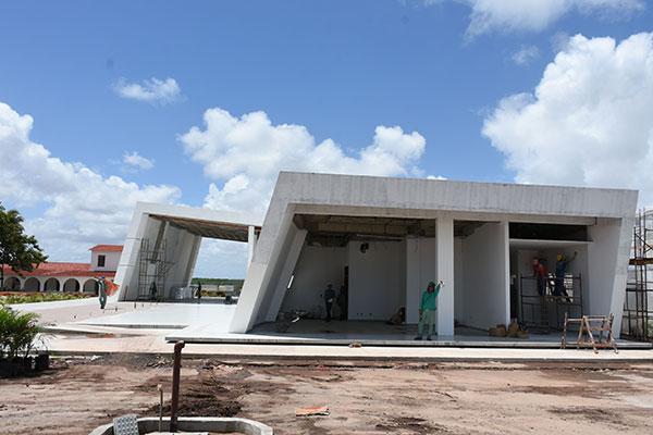 Projeto de Carlos Ribeiro Dantas, Complexo conta com um memorial do aviador, que abrigará auditório, loja e bar temático