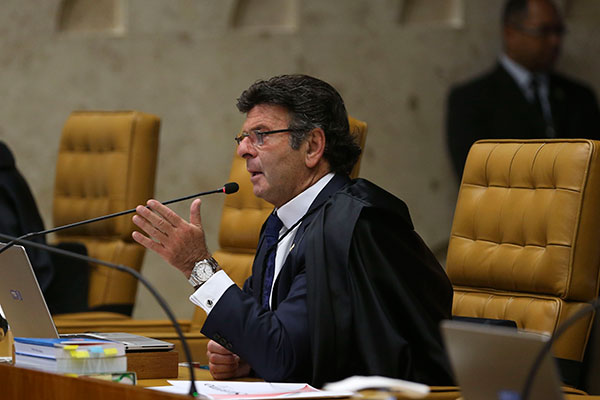 Presidente do Supremo Tribunal Federal, Luiz Fux disse que já esperava a chegada de ações sobre a vacinação ao tribunal