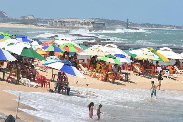 Praias potiguares devem receber um grande fluxo de turistas durante o verão.Empresários destacam conservação da orla