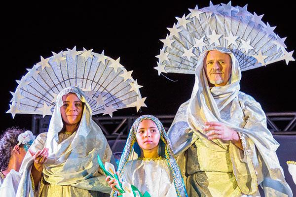Auto natalino Santana e São Joaquim é encenado em São José de Mipibu. O espetáculo é assinado por Rosinaldo Luna e Cláudia Borges