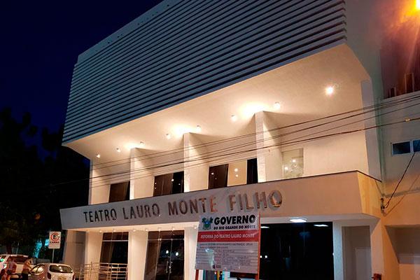 Teatro Lauro Monte Filho, em Mossoró, foi reformado e reaberto