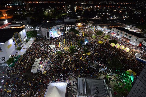 Polo Ponta Negra é um dos mais atrativosespaços na programação do Carnaval de Natal