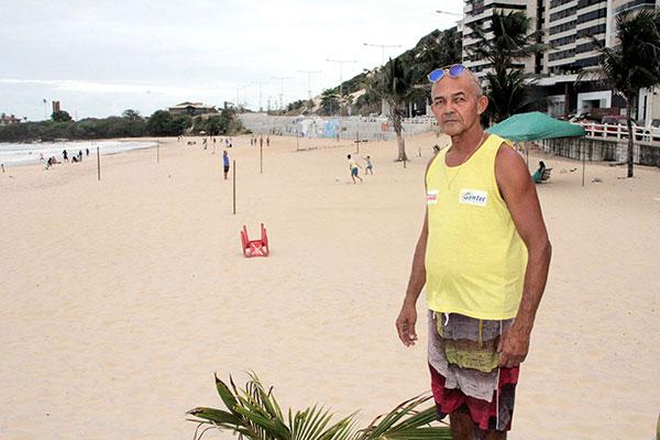 Carlão: a praia ficou mais democrática e mais tranquila depois que os moradores se organizaram