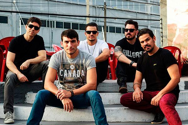 Banda United aposta no rock britânico do Oasis e no som da americana Imagine Dragons