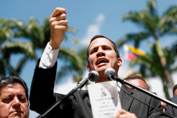 Presidência de Guaidó é reconhecida pelo Brasil