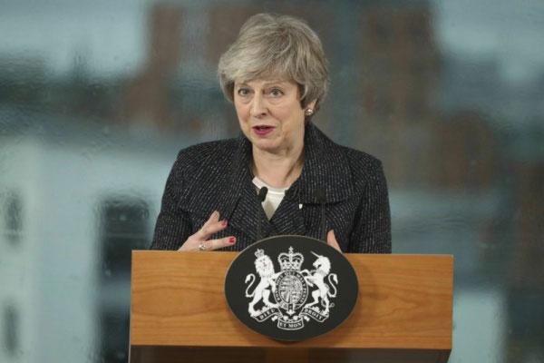 Primeira-ministra Theresa May