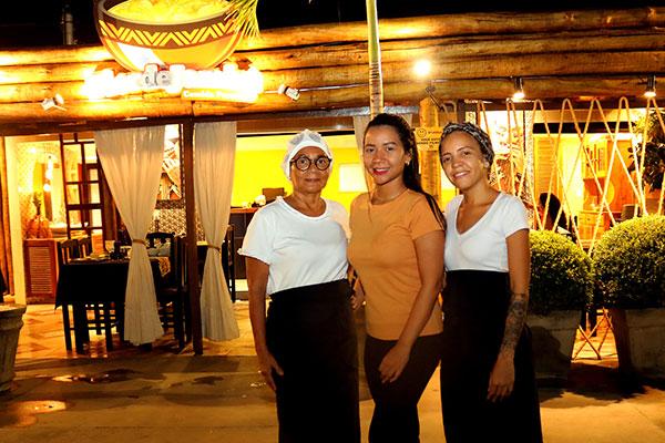 Dona Ivete, Talita Carvalho e Tamara recriam sabores do Pará