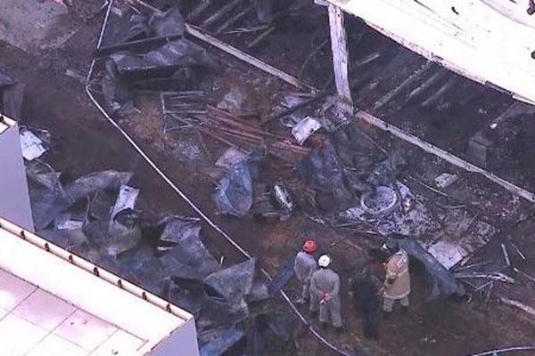 Incêndio no Ninho do Urubu deixou dez mortos e três pessoas feridas, segundo o Corpo de Bombeiros do Rio