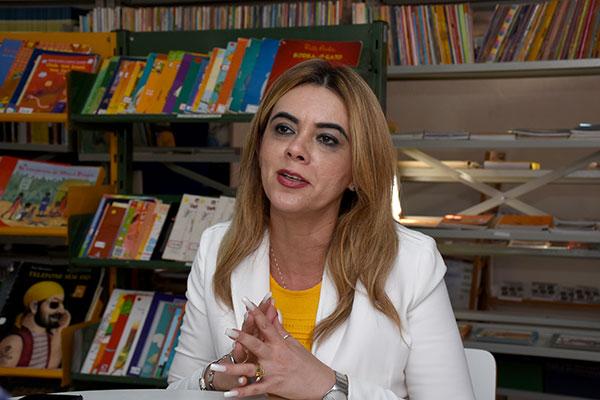 Cláudia Santa Rosa é doutora em educação e foi titular da Secretaria do Estado da Educação e da Cultura (SEEC) até dezembro de 2018