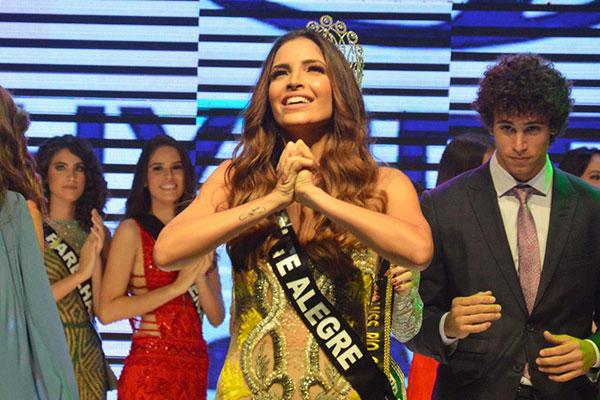 Erika Fontes, representante de Monte Alegre foi eleita na última terça-feira (05), Miss Rio Grande do Norte Be Emotion