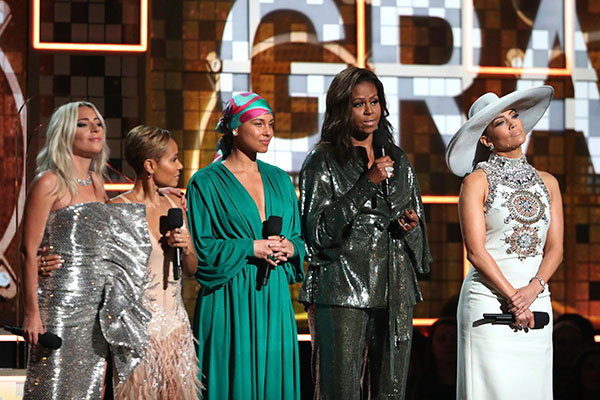 Mulheres Grammy 2019
