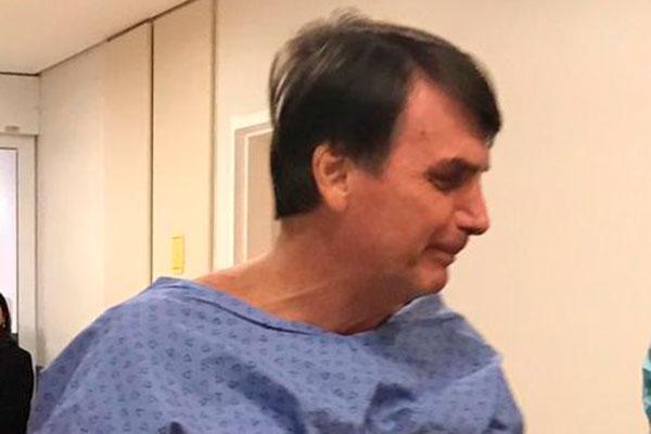 Jair Bolsonaro está se recuperando da cirurgia