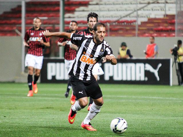 Pierre foi muito bem no Atlético-MG