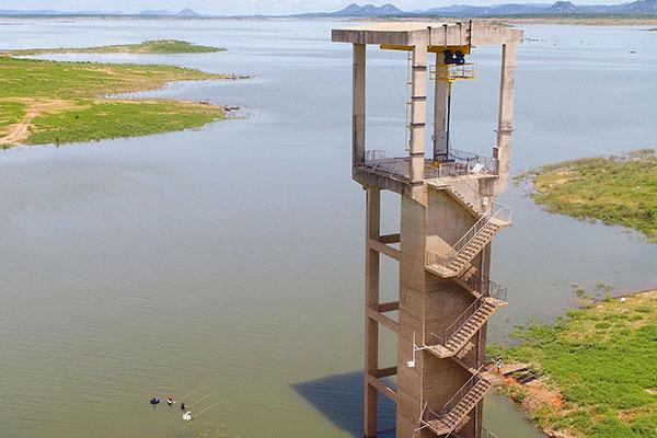 Entre as 10 barragens a serem vistoriadas pela ANA, está a Armando Ribeiro Gonçalves, localizada em Assú