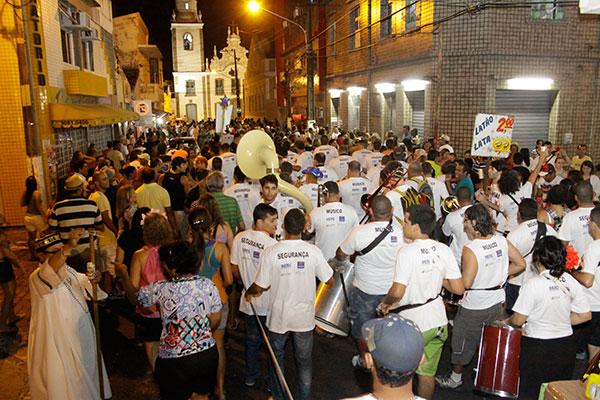 Banda Independente da Ribeira fará dois ensaios antes do cortejo de abertura do Carnaval de Natal, dia 28 de fevereiro