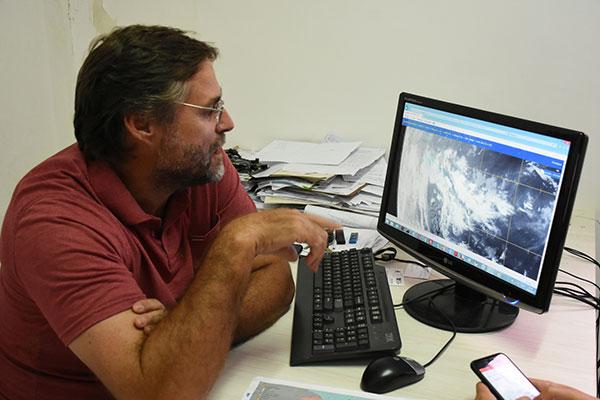 Segundo Gilmar Bristot, as chuvas devem continuar no interior do Estado. Em Jucurutu, já choveu 357,4 milímetros até agora