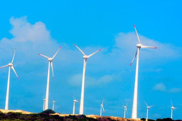 Estado lidera a produção e capacidade instalada nas eólicas