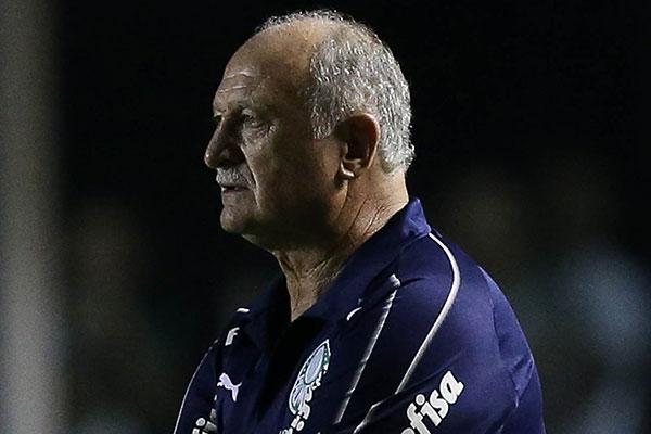 Felipe Scolari acha que Palmeiras será prejudicado no Paulistão