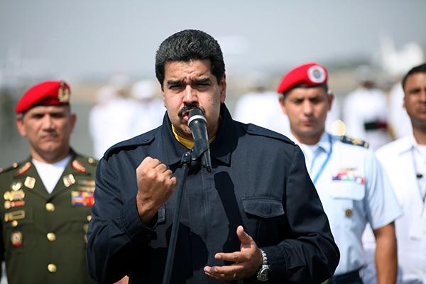 Maduro disse que não haverá guerra na terra de Bolívar e Chávez